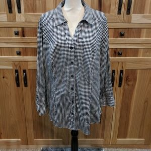 Lane Bryant button down